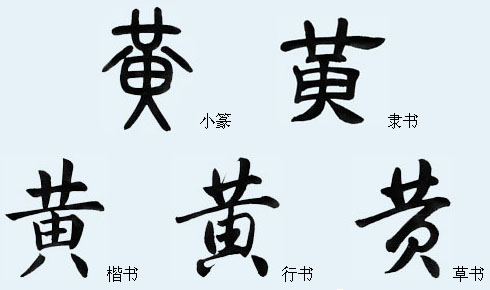 """黄""""字-中国字与中国文化_传统文化"""